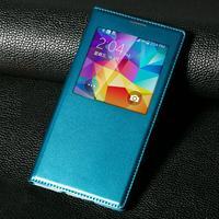 Original Independent chip intelligent sleep case for SV G900  flip leather Back cover  for Samsung galaxy SV G900 S5 phone case