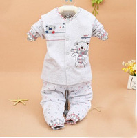 New 2014 Spring auturam baby Jumpsuit baby rompers cotton Baby clothing set baby Long-sleeved  jumpsuit sack