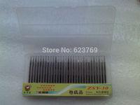 Free Shipping 2set/lot Diamond Burrs Bur Bit Set, Dremel Rotary Tool Drill Bit, 1mm Ball Shape, Shank Diameter 3.0mm