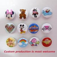 1000 Sets 10 Designs Mix Customized Logo Prym Snap Buttons