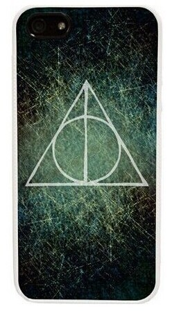 Unique Snap-on Plastic Harry Potter Deathly Hallows Case Cover Skin For Apple iPhone 5/5S 5 5S 5GS 5G Verizon Sprint(China (Mainland))
