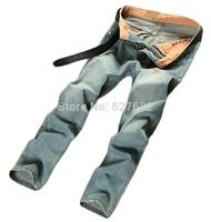 Fashion High Quality Gentleman Retro Cotton Brand Men's Jeans Men Jeans Famous Brand True Jeans New 2014 Leisure International
