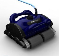 Free Shipping Swim Pool Robot Cleaner New Model iCleaner-200 robot swimming pool cleaner with caddy cart and CE