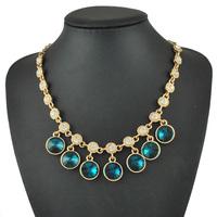 New Crystal Rhinestone Charm Choker Necklaces for Women 2014 Jewelry