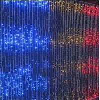 300LED 3M*3M curtain string lights Christmas Garden lamps Icicle Lights  220V EU UK US AU