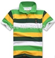 2014 summer brand polo shirt polo shirt boys and girls baseball classic children's brand short-sleeved polo shirt cheap