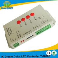 DC 5V 24V T1000S IC Dream rgb color led sd card controller