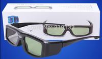 3pcs/lot video Glasses,144Hz 3D DLP-Link Rechargeable active Shutter,virtual reality video glasses