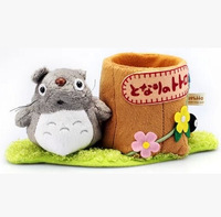 Creative Cute Japan Cartoon Anime TOTORO Plush Pen Holders Box