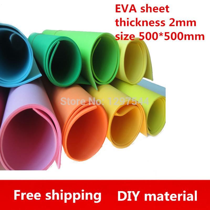 Modelling Foam Sheets 12pcs Lot 2mm Foam Sheets