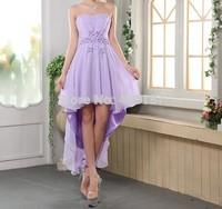 women ladies famous low cut back prom girl dress royal blue high low party pink elegant girls fancy dresses 2014 event  HVFF10