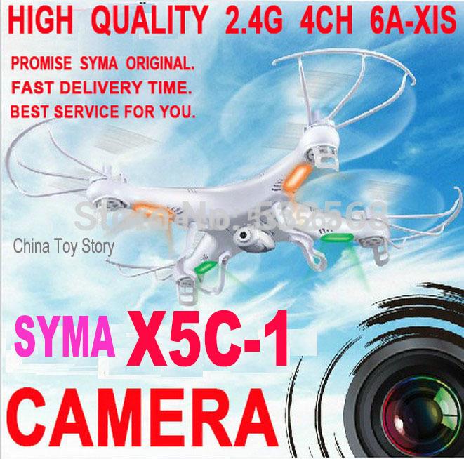 Top 2014 syma x5/x5c 100% original 2.4g 4ch 6 axes. hélicoptère rc télécommande quad hélicoptère drone ar. Drone avec caméra hd jouets