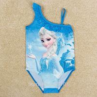 Frozen swimwear children's bathing suits baby & kids children swimsuit new 2014  swimsuit for girls bikini girl one piece retail