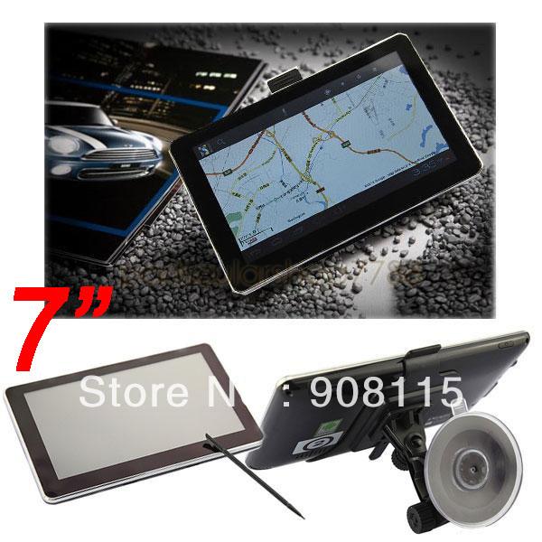 7 Inch Gps Navigation HD GPS for Microsoft Windows CE6.0 Tablet FM + RAM128MB/4GB Support HI-FI FMT,MP3, Professional(China (Mainland))