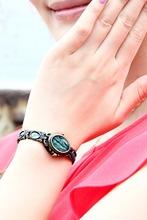 Colorful New Fashion Time100 Luxury Brand Retro Art Ladies Jewelry Bracelet Dress Wristwatch Quartz Watches For