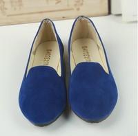 2014 New Hot Sale Fashion Women Ballerina Slipper Flat Shoes Spring Summer Creeper Casual Shoes For women Fsat Shipping
