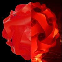 New Modern DIY Pendant Ball novel IQ baby room lamp light red color pendant lights,size 25cm/30cm/40cm YSLIQR free shipping
