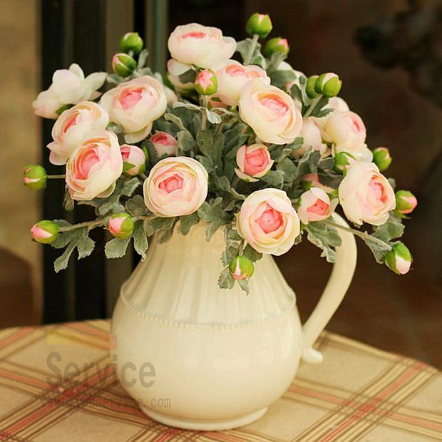 Flores artificiais de seda rosas bud decorativa para o casamento moda mk relógio de alta qualidade falso rose arranjos(China (Mainland))