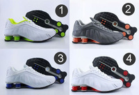 2014 the latest  style retail fashion brand  R4 sneakers men's sports shox shoes 4 color size 41-46