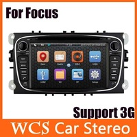 Car Head Unit For Ford Focus Mondeo S-Max,2din 800mhz cpu car dvd player styling, audio radio stereo,support dvr,3g