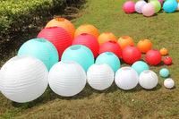 2014  fashion  30pcs/lot 8''(20cm) Chinese paper lantern home and party decoration wedding decoration 16 colors wedding lantern