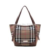 Creative british plaid female bags casual handbags women brand shoulder bag bolsas femininas de ombro free drop shipping