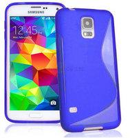 100pcs/Lot TPU S  Line GEL Case Cover for Samsung Galaxy S5 Mini