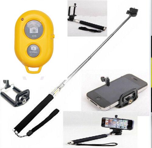 Дистанционный спуск затвора для фотокамеры Amart Bluetooth & Monopod 0001 гаджет дистанционныйспускзатвора fototo для iphone