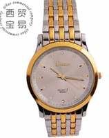 New High quality wholesale Men's business Luminous pointer Rhinestone full stainless Quartz waterproof steel strap watch LB8582