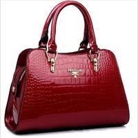 Fashion Bolsas Patent Leather Women Handbag 2015 New Shoulder bags Brand Designer Women Leather handbag Trendy Crossbody bags