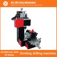 20,000r/min 24W All-Metal Dividing Drilling Machine DIY Metal Drilling Machine with Dividing Attachment