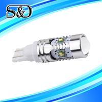 S&D Brand 1pcs T10 25W CREE XP-E Super Brightness White High Power T10 194 W5W 912 921 T15 LED Bulbs Car Backup Reverse Lights