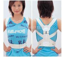 2pcs Back Correction Belt  To Prevent Humpback Correct Sitting Posture Back Straight Belt Straight Chest Underwear