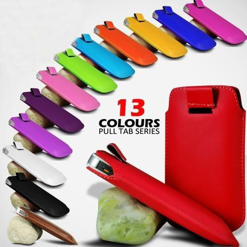 For Samsung Galaxy S5 I9600 S4 S3 5S 4S 5C note 3 note 2 Pull Tab Pouch Sleeve Case 10pcs(China (Mainland))