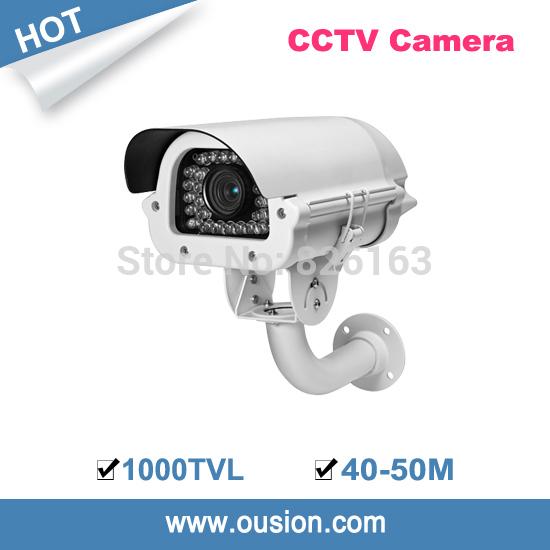 2014 cctv camera 40-50m ir distance temperature control system ip66 6-22mm varifocal lens color 1000tvl water-proof ir32-610(China (Mainland))