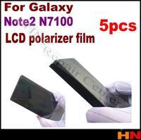 5pcs For Samsung Galaxy Note2 N7100 LCD Filter Polarizing Film Front Polarizer Polarized Light Film
