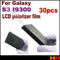 30pcs For Samsung Galaxy S3 I9300 lcd screen polarized film general lcd screen film thick screen polarized film