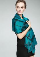 (free shipping)muslim shawl ,muslim scarf ,muslim hijab ,180*80cm silk lace shawl can choose colors