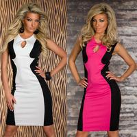 EAST KNITTING N-340 summer dress women 2014 Elegant Dresses New sexy hollow out Bandage Dress vintage dress free&drop shipping