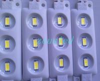 High brightness 40-50m/led dc12V 1.2w/pcs IP65 5730 injection led Module Good heat dissipation.2 Years Warranty 20pcs free ship