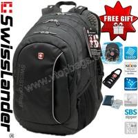 Swisslander,SwissArmy,Swiss Laptop backpack,Computer backpack,Laptop bag,Computer bag,school backpack 15.6 inch w/raincover