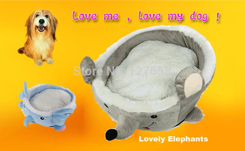 2014 NEW Hot sale H43cm algodão encantadores elefantes estilo versão colorido de alta qualidade do animal de estimação canil cama do cão dar o seu animal de estimação uma(China (Mainland))
