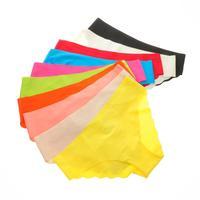 Women's Tailored Seamless Low Rise Bikini Hipster Panty XS S M L XL 10 Colors