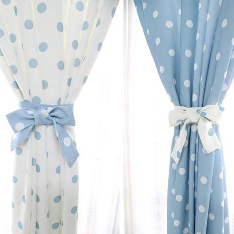 Polka Dot Curtains. mini polka dot blackout panel c. white grey ...