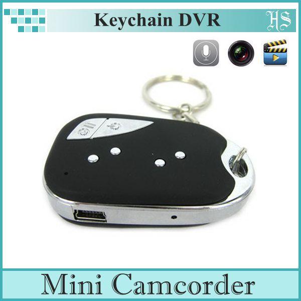 Mini Hidden Car Key Digital Camera Mini Camcorder Support TF Card Keychain DVR AD0085(China (Mainland))