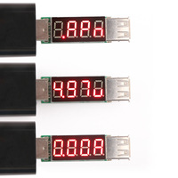 USB Tester Multimeter Mobile Power Supply Doctor USB Voltmeter Ammeter DC Voltage Current Detector Monitor Volt Amp Panel Meter