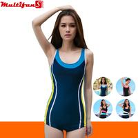 8319 stripe one piece swimwear for women sexy push up swimdress swimwear women plus size conservative swimsuit xxl 23475580562