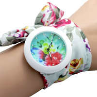 2014 New Hot ! Exclusive silk ribbon watch watch ladies watch new detonation model,Leisure fashion cloth watches.Girls/women