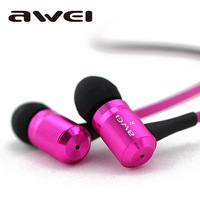 High quality ES-100m HIFI Super bass Stylish in-ear earphone Cell Phone Headsets with Mic Button for samsung xiaomi sony iphone