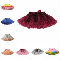 Baby And Children Girl Colorful Girls Fluffy Pettiskirts Chiffon Tutu Petti Skirt Princess Skirts